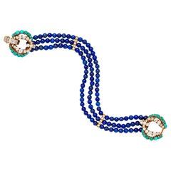 1940s Beaded Bracelets