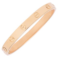 Cartier 18 Karat Gold New Style Love Bangle
