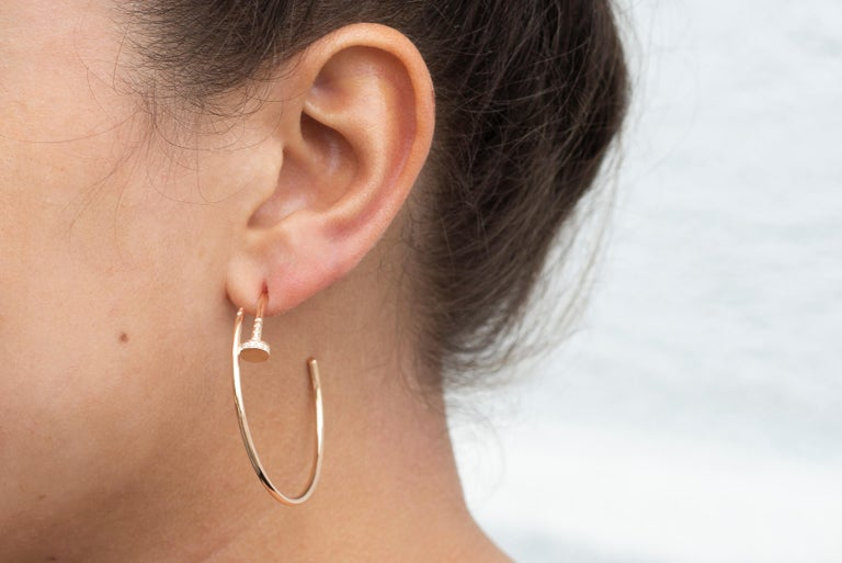 a17542f19 Cartier Earrings Juste Un Clou - Best All Earring Photos Kamilmaciol.Com