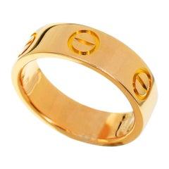 Cartier 18 Karat Pink Gold Love Ring