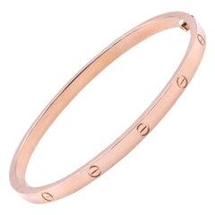 Cartier 18 Karat Rose Gold Love Bracelet, SM