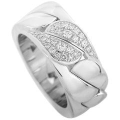 Cartier 18 Karat White Gold Diamond Ring