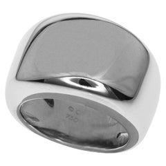 Cartier 18 Karat White Gold Nouvelle Vague Ring