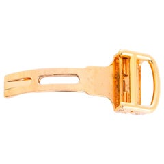 Cartier 18 Karat Yellow Gold Deployant Clasp/Buckle