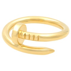 Cartier 18 Karat Yellow Gold Juste un Clou Ring