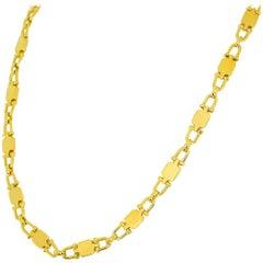 Cartier 18 Karat Yellow Gold Long Chain Necklace