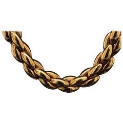 Cartier 18 Karat Yellow Gold Necklace