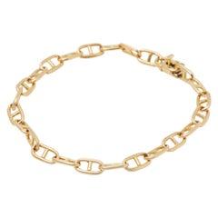 Cartier 18 Karat Yellow Gold Spartacus Link Bracelet