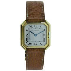 Cartier 18 Karat Yellow Gold Tank Centure