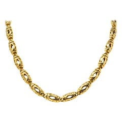 Cartier 18 Karat Yellow Gold Unisex Chain Necklace