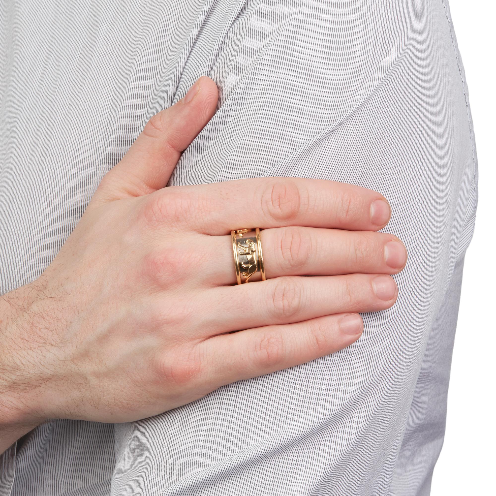cartier mens wedding ring