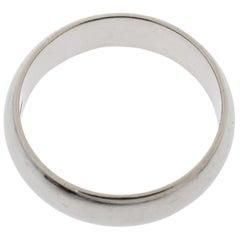 Cartier 1895 Platinum Wedding Band Ring Size 52