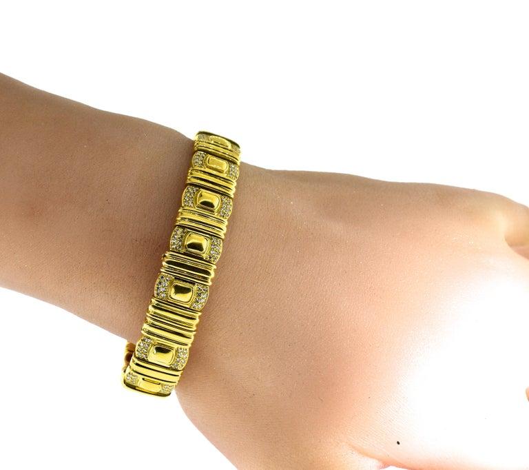 Cartier 18 Karat and Diamond Wristwatch or Bracelet 6