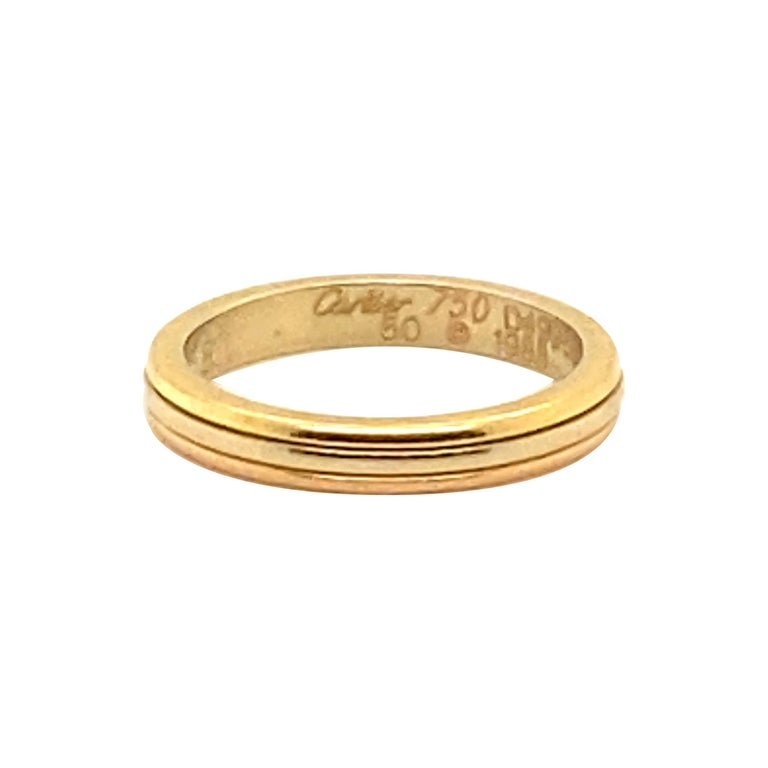Cartier 18K Gold Ring For Sale