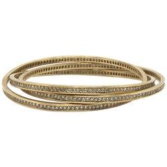 Cartier 18K Gold Trinity Bracelet