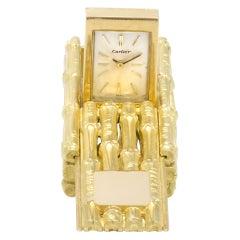 Cartier 18k mm Manual Watch