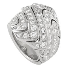 Cartier 18K White Gold, 3.00 Ct Diamond Ring