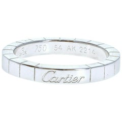 Cartier 18k White Gold Lanières Band 6.3g