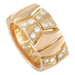 Cartier 18K Yellow Gold 1.00 ct Diamond Band Ring