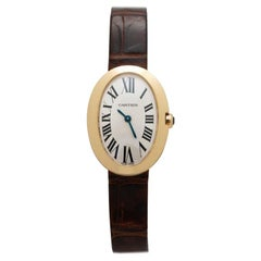 Cartier 18 Karat Yellow Gold Baignoire Model W8000009