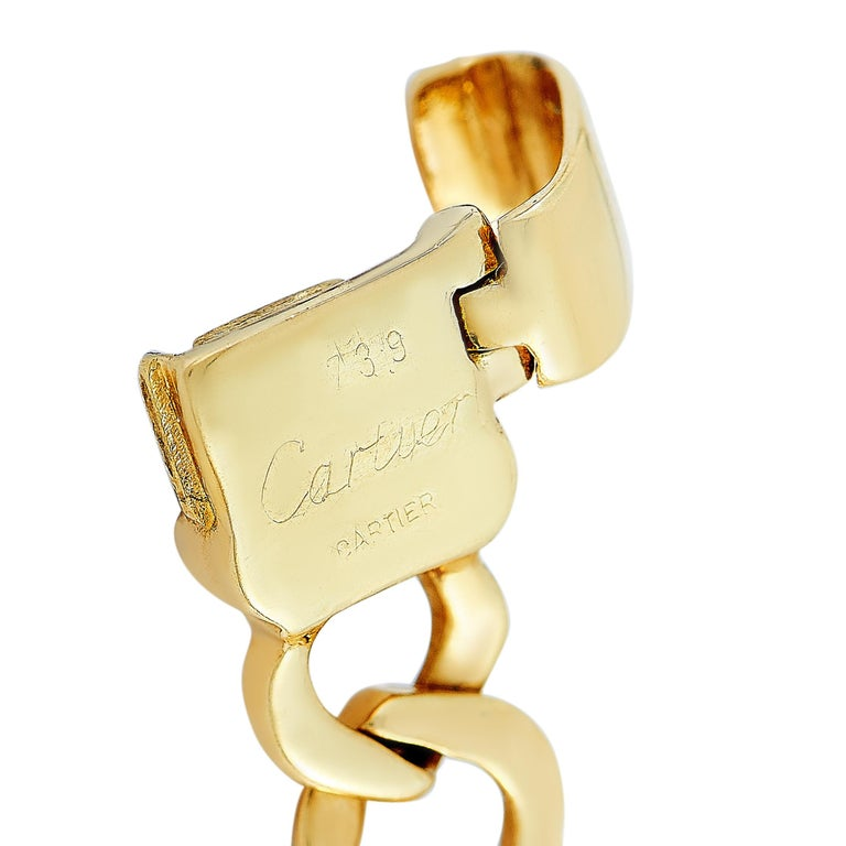 Women's Cartier 18 Karat Yellow Gold Bracelet