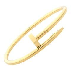 Cartier 18K Yellow Gold Classic Juste un Clou Bracelet