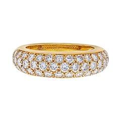 Cartier 18K Yellow Gold Etincelle Diamond Ring