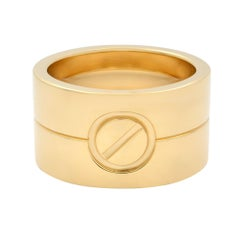 Cartier 18K Yellow Gold High Love Ring