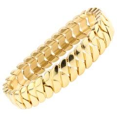 Cartier 18kt Solid Yellow Gold Unisex Bracelet