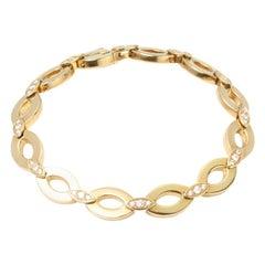 Cartier 18kt Yellow Gold Diamond Set Bracelet from the Diadea Collection
