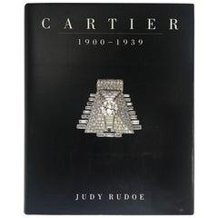 """""""Cartier 1900-1939 Judy Rodoe"""" Book, 1997"""