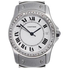 Cartier 19201 Santos Ronde Watch