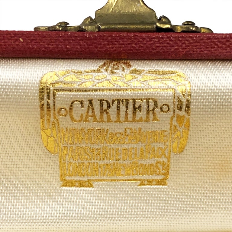 Cartier 1940s Gold Pencil Watch with Canadian Political Provenance For Sale 2
