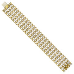Cartier 1960 Diamonds Bracelet