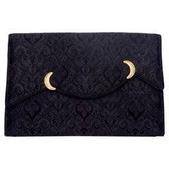 Cartier 1960s Black Evening Clutch