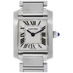 Cartier 2384 Tank Francaise Wristwatch