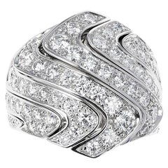Cartier 4 Ct. Round Diamond Cocktail Ring, 18K Gold