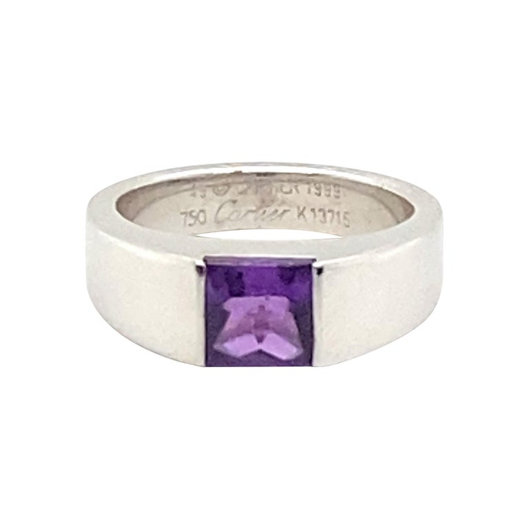 Cartier Amethyst Ring For Sale