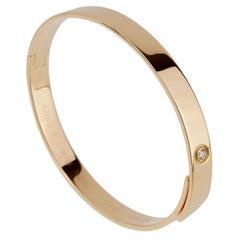 Cartier Jahrestag Gelb Gold Diamant Armreif
