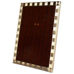Cartier Art Deco 14 Karat Gold Photo or Picture Frame
