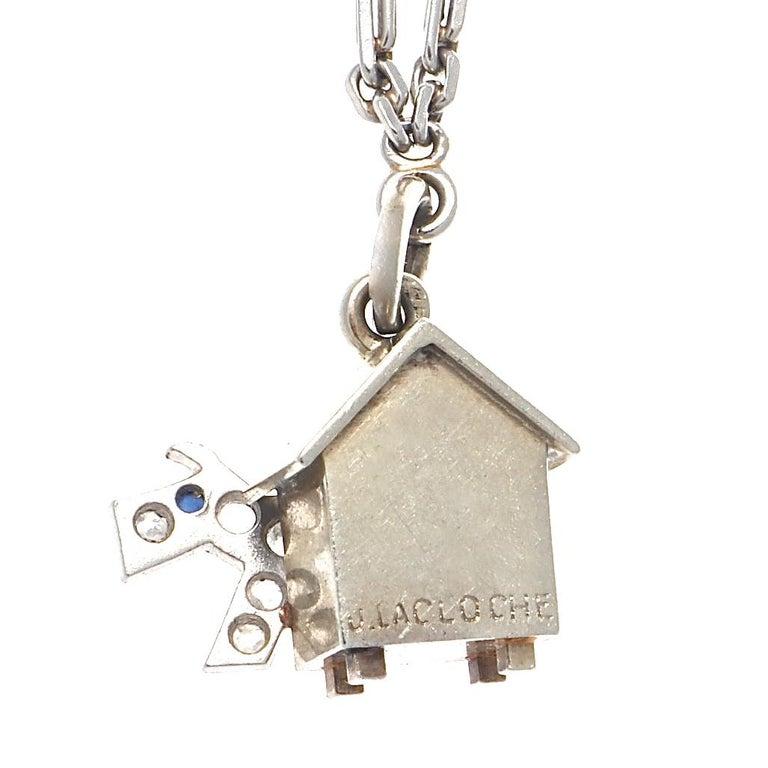 Art Deco Charm Bracelet For Sale 6