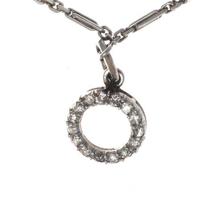 Art Deco Charm Bracelet For Sale 3