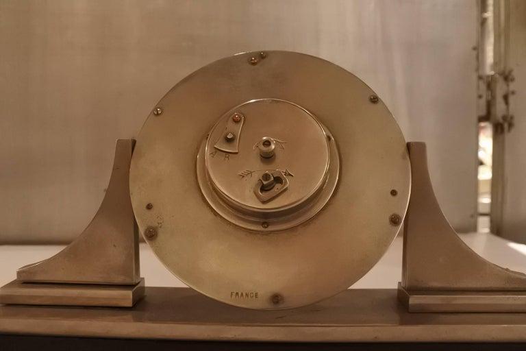 Cartier Art Deco Table Clock For Sale 1