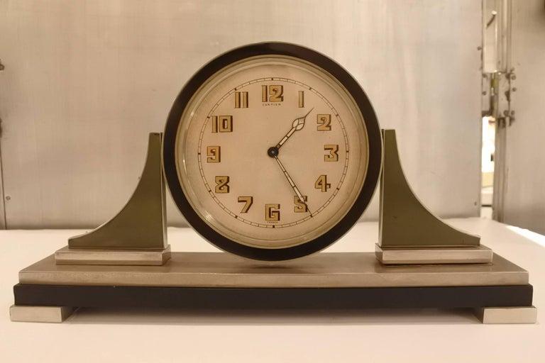 Cartier Art Deco Table Clock For Sale 2