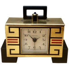 Cartier Art Deco Travel / Alarm Clock