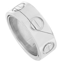 Cartier Astro LOVE 18 Karat White Gold Ring