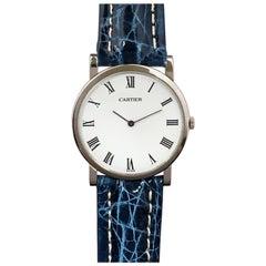 Cartier Audemars Piguet Vintage White Gold mechanical Gents Wrist Watch