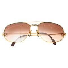 Cartier Aviator Santos Sunglasses Vintage
