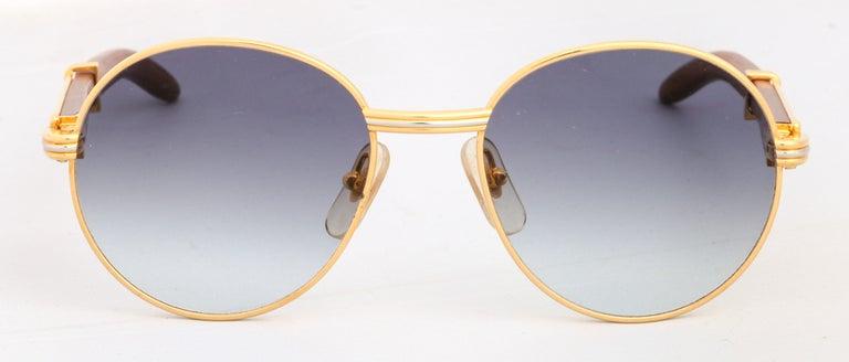 Cartier Bagatelle Palisander Sunglasses sz 55 18