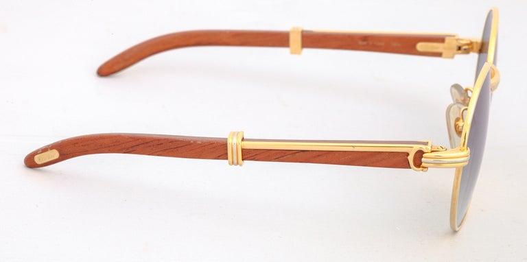 Men's Cartier Bagatelle Palisander Sunglasses